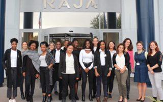 Des lycéennes issues de quartiers prioritaires découvrent l'entreprise avec RAJA