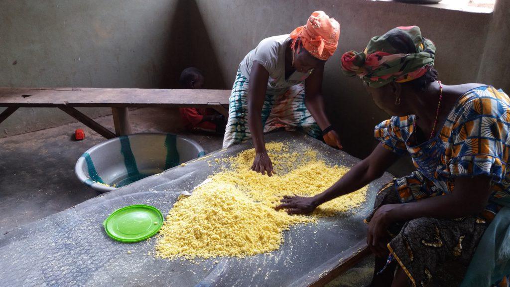 Renforcement des capacités et équipement de la coopérative de femmes de Kolaboui pour transformer et commercialiser les produits agricoles locaux
