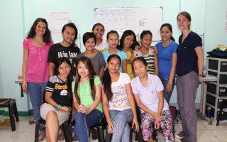 La Fondation en mission de suivi aux Philippines