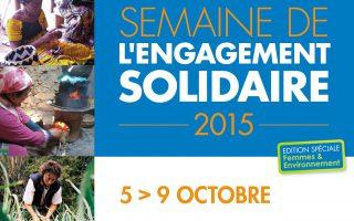 Une semaine de l'engagement solidaire spéciale » Femmes & environnement» chez RAJA
