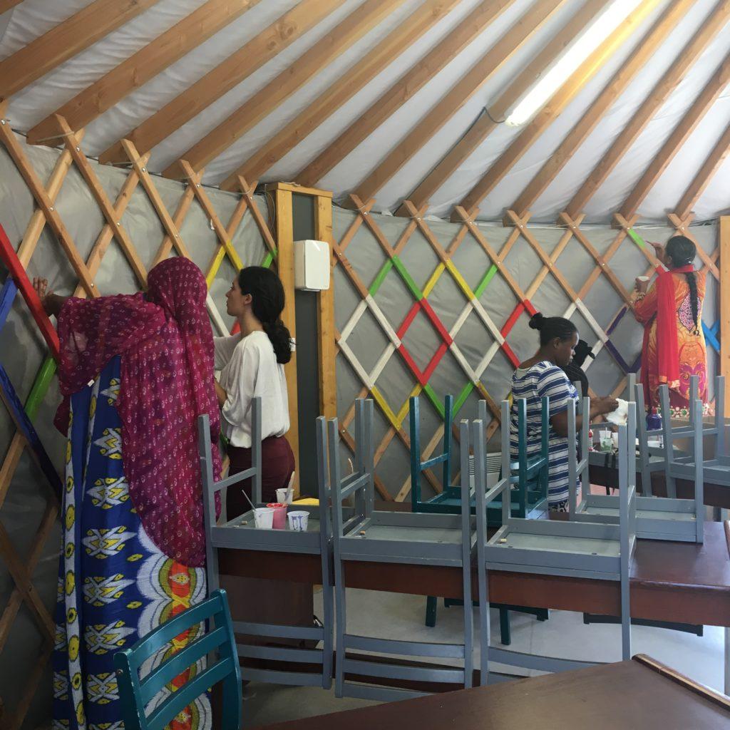 Centre d'hébergement d'urgence pour les femmes réfugiées