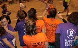 La Nuit des Relais (Relay Night) : a solidarity-based, festive and committed race against violence against women