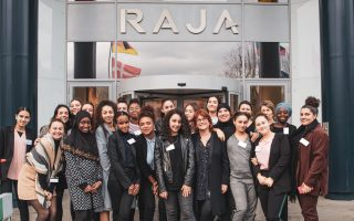 Discover RAJA with the association Rêv'elles : a day of exchanges, sharing and discovery of the company