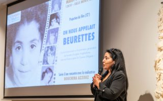 """They called us beurettes"" : 3 questions to Bouchera Azzouz"