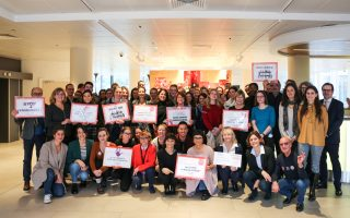 The RAJA Group and the RAJA-Danièle Marcovici Foundation once again mobilized mobilized against violence against women