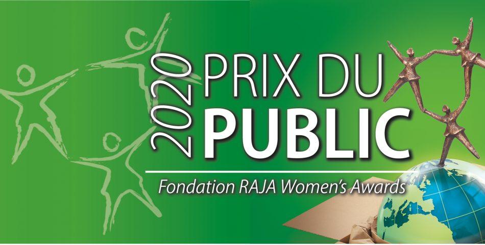 Du 19 octobre au 8 novembre, votez pour décerner le Prix du Public des Fondation RAJA Women's Awards 2020 à votre projet favori !