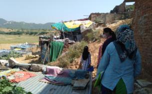 Empowerment des femmes des quartiers précaires de Jaipur
