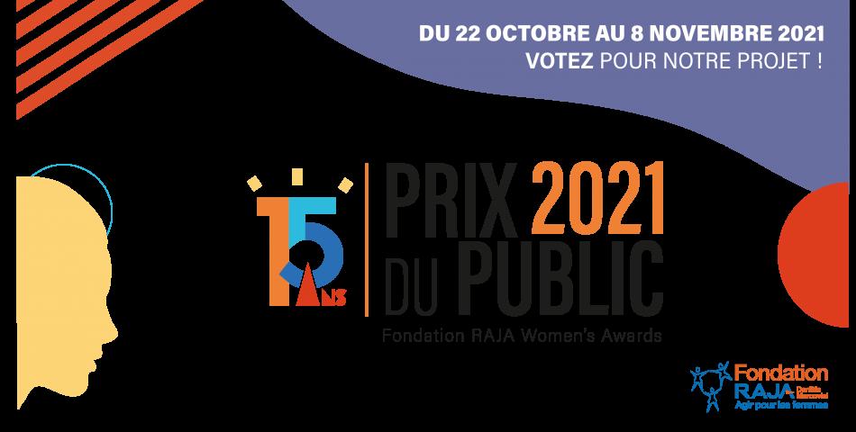 15 ans de la Fondation RAJA-Danièle Marcovici : votez pour le Prix du Public !